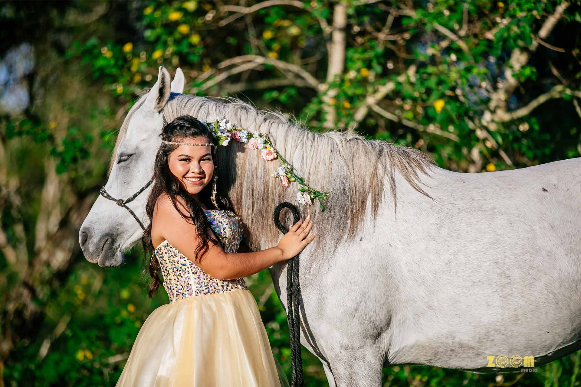 sweet-16-photo-Pearland-with-horse