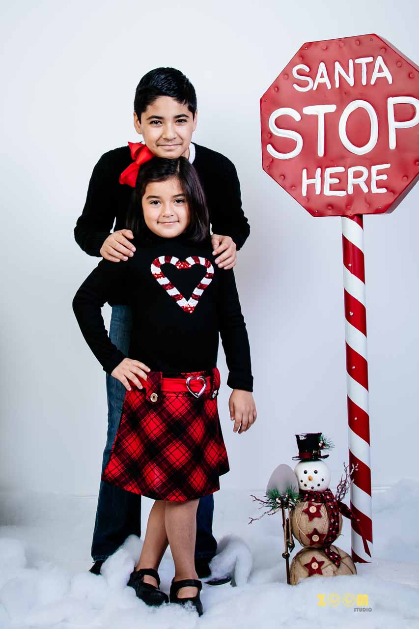 Children Photography Pearland Christmas Photo