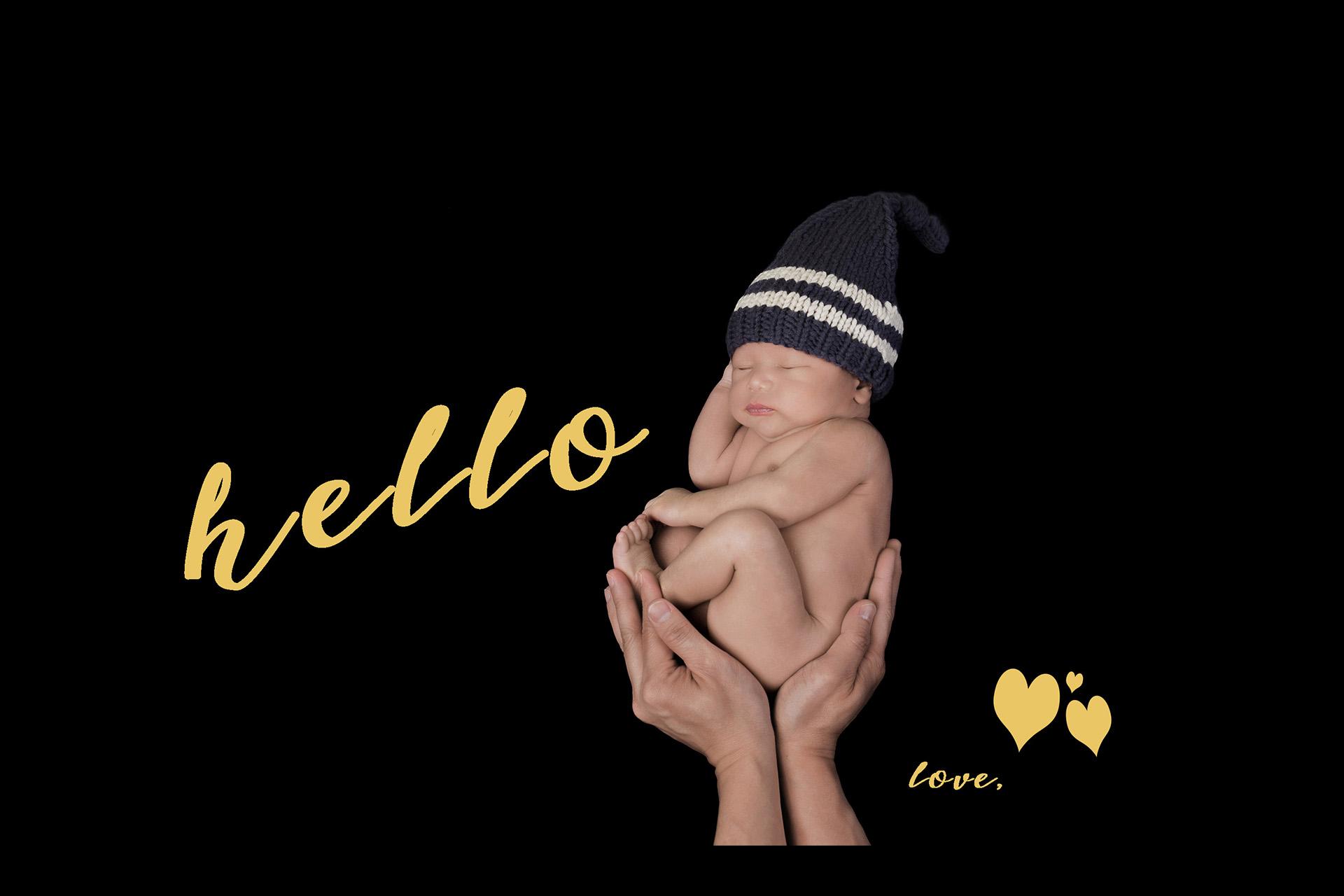 Newborn Birth Announcement Photographer Pearland Houston