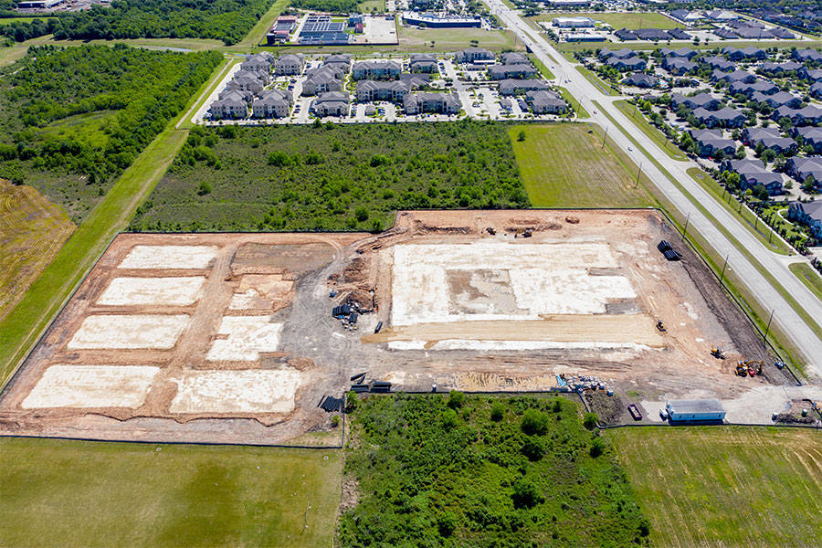 Best-Cheap-Houston-Pearland-manvel-Alvin-Sugar-Land-Missouri-City-Best-Aerial-Photographers-Drone-Photography-Texas-Commercial-Land-Construction-Site-Projects